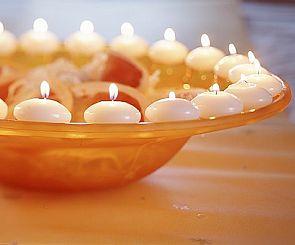 Блики пламени – свечи в Вашем доме