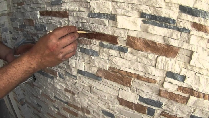 Чем покрасить декоративный камень своими руками