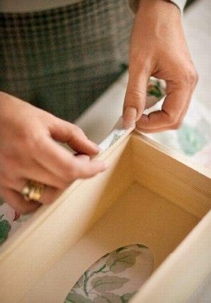 Декоративная коробка для салфеток
