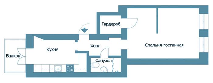 Дизайн малогабаритной спальни своими руками (фото)