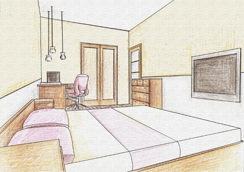 Дизайн спальни в загородном доме: планировка, освещение, декор (фото)