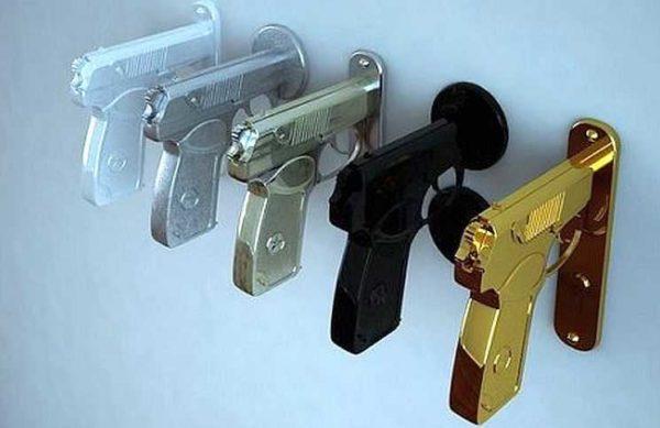 Дверные ручки для межкомнатных дверей: виды, выбор