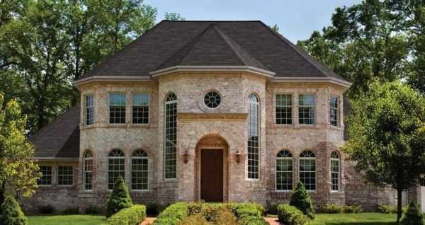 Фото кирпичных домов и коттеджей — выбираем фасад