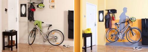 Где и как хранить велосипед в квартире?