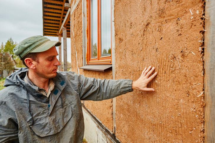 Глиняная штукатурка: преимущества, виды, применение