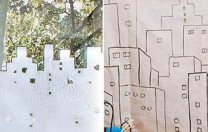 Городские мотивы – оригинальные украшения для окон и батарей
