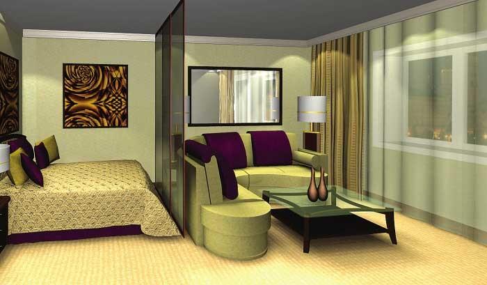 Гостиная, совмещенная со спальней: дизайн, варианты интерьеров, рекомендации