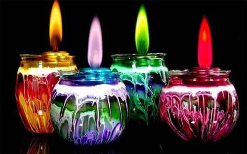 Как использовать остатки старых свечей?
