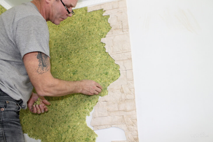 Как обрабатывать стены шелковой штукатуркой?