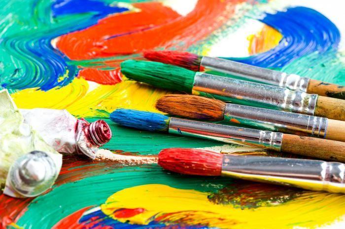 Как пользоваться акриловыми красками: правила нанесения и основные техники