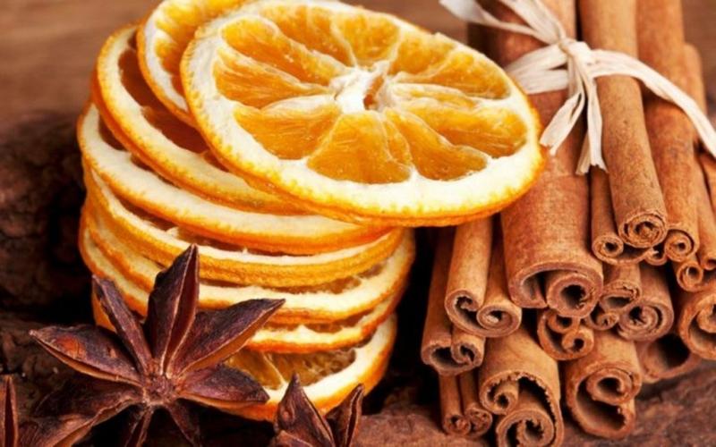 Как правильно засушить апельсины для декора
