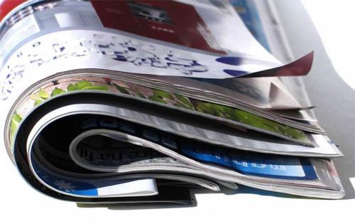 Как сделать декоративный коврик из журналов?