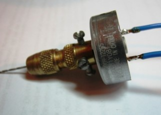 Как сделать мини дрель своими руками
