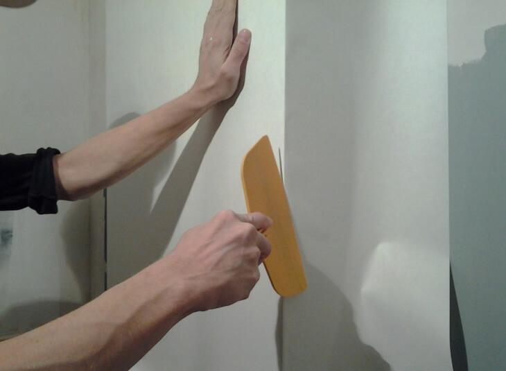 Как шпаклевать углы: техника выполнения работ