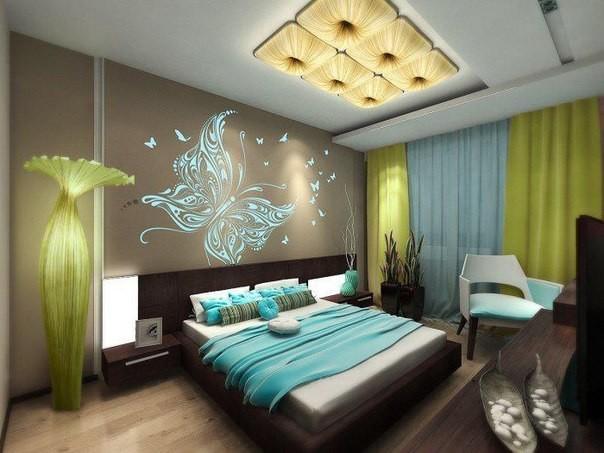 Как украсить спальню своими руками — основные правила декора