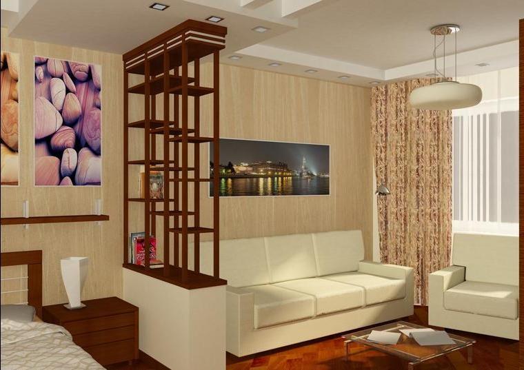 Как в гостиной сделать спальню: особенности