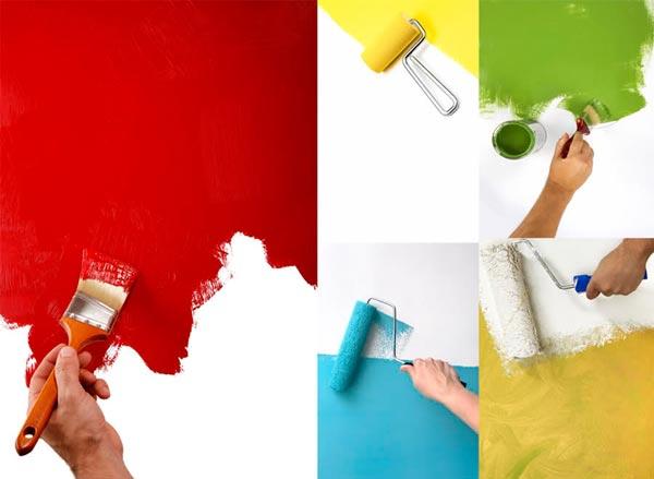 Как выбрать краску для стен в квартире