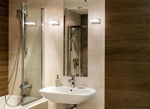 Как выбрать светильники в ванную комнату?