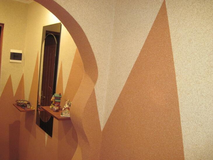 Минеральная штукатурка с мраморной крошкой, достойный материал для отделки стен