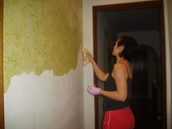 Мокрая штукатурка — современный способ отделки стен