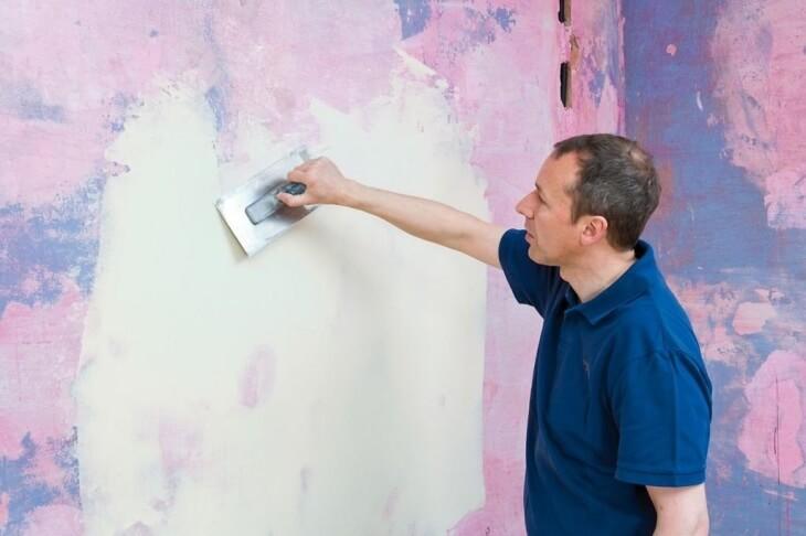 Можно ли на краску наносить шпаклевку? Процесс удаления краски и нанесения шпатлевки