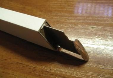 Нож с пяткой для снятия изоляции своими руками