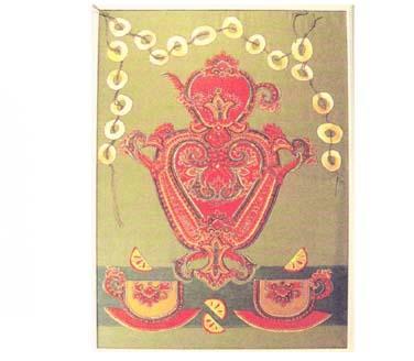 Панно «Чай вдвоем»