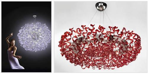 Подвесные декоративные люстры