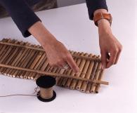 Полочка из бамбука