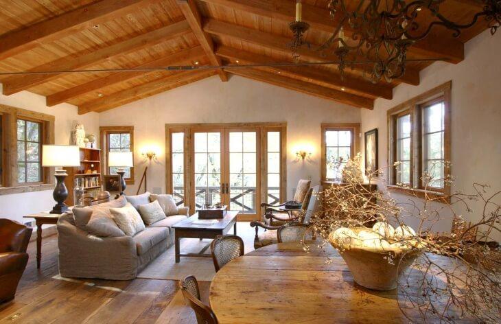 Штукатурим деревянные стены дома своими руками