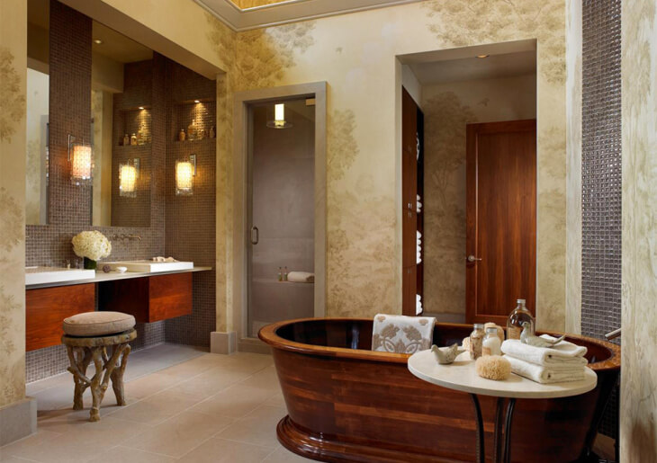 Штукатурка для ванной комнаты: особенности работ во влажных помещениях