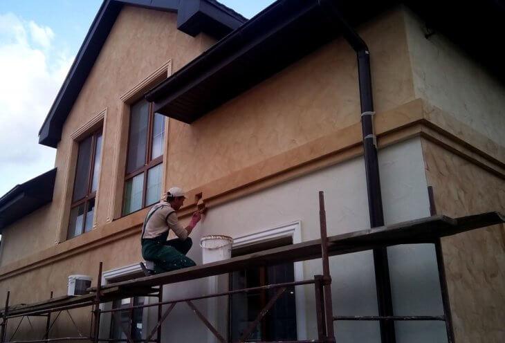 Силиконовая краска для отделки фасадов новых зданий и реставрации старых