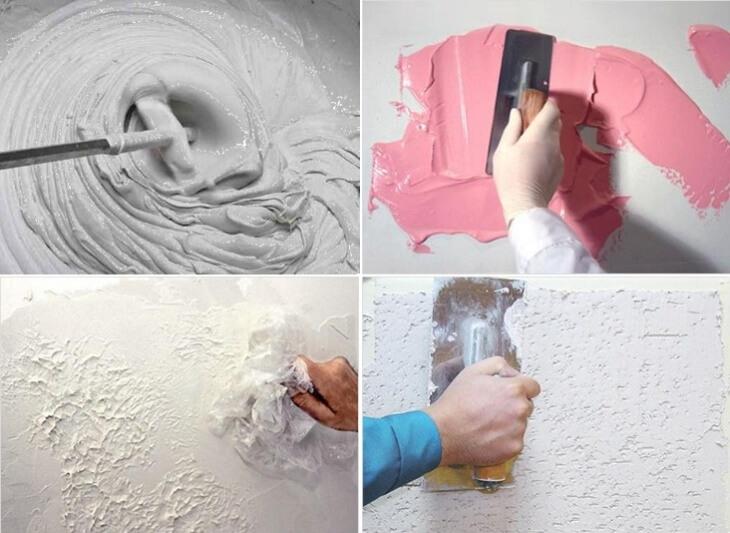 Создаем новый интерьер своими руками с помощью фактурной штукатурки, мастер класс