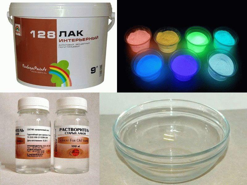 Светящиеся краски: виды, применение, изготовление своими руками