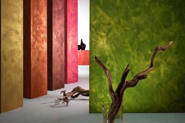 Технология фактурной покраски стен своими руками