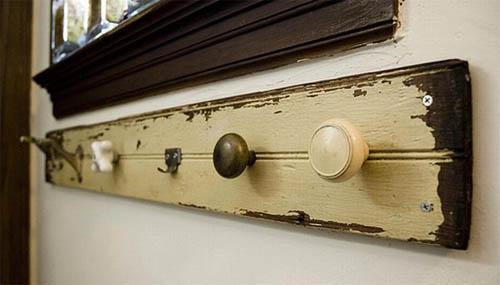 Вешалки из дверных ручек своими руками