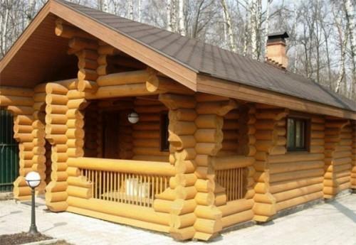 Баня: выбор древесины для сруба