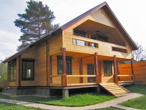 Дома из бруса — быстро, надежно и экологично.