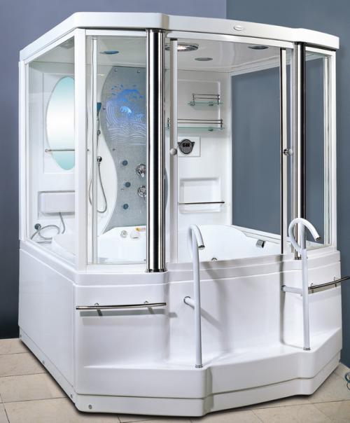 Душ и ванна - вариант для самых практичных