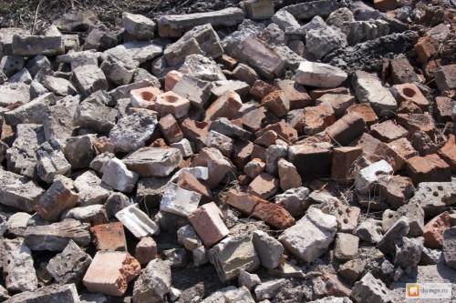Экономим на строительстве: использование битых материалов