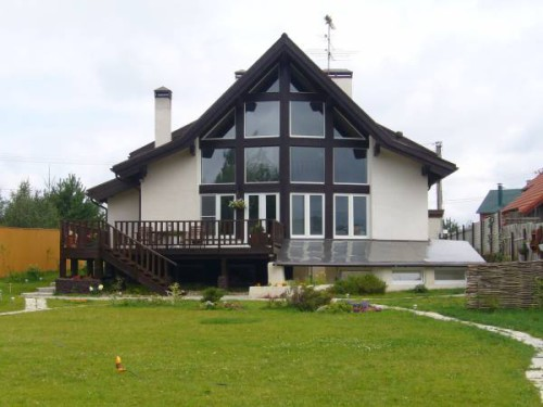 Купить дом под ключ по Дмитровскому шоссе возможно в новом коттеджном поселке