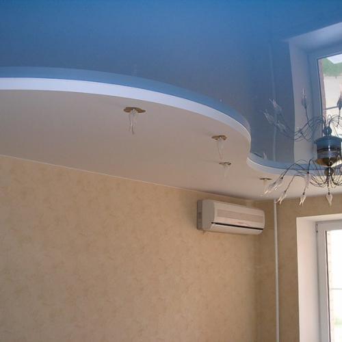 Пленка ПВХ в натяжных потолочных конструкциях