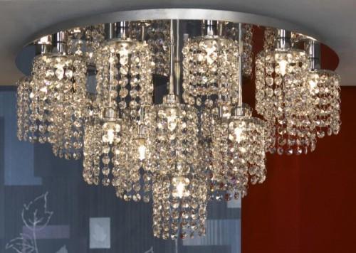 Разнообразие потолочных светильников в Москве