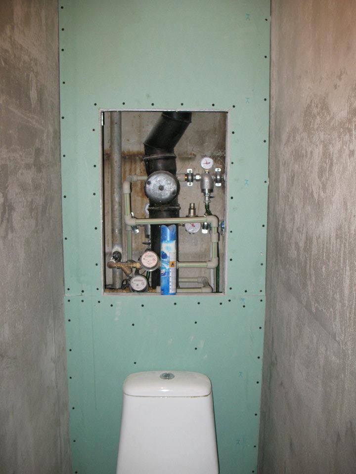 Сантехнический шкаф своими руками 85