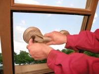 Замена оконного стекла